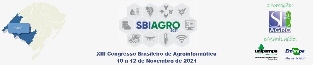 Congresso Brasileiro de Agroinformática 2021