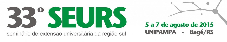 33º Seminário de Extensão Universitária da Região Sul – SEURS