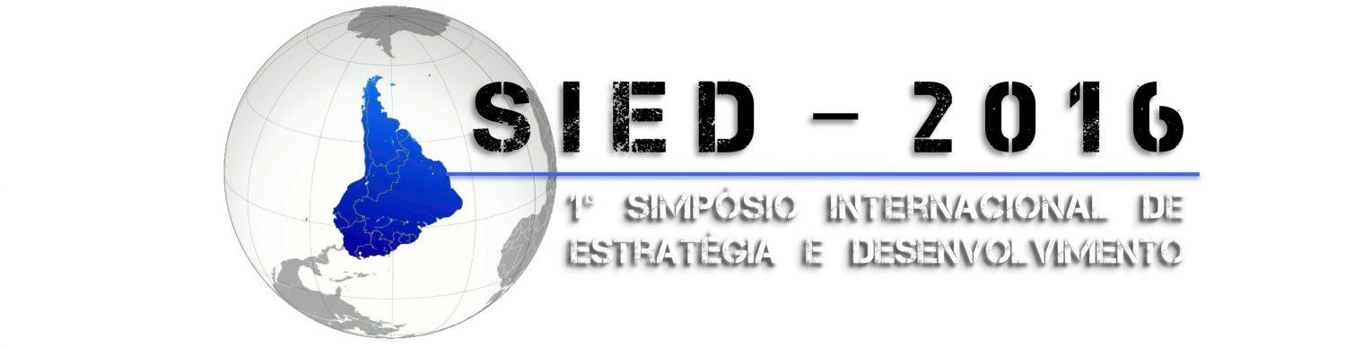 Seminário Internacional de Estratégia e Desenvolvimento – SIED
