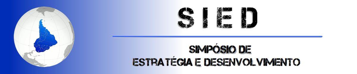 Simpósio de Estratégia e Desenvolvimento – SIED